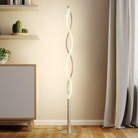 Wellenförmige LED-Stehlampe Auron