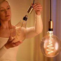 WiZ LED filament PS160 E27 6 5W 2 000 5 000K amber