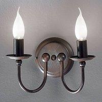 Two bulb rustic wall light AZIENDA
