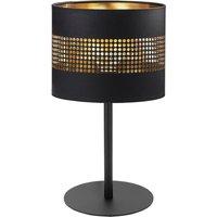 Tafellamp Tago zwart/goud