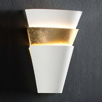Wall light Isis with gold leaf finish