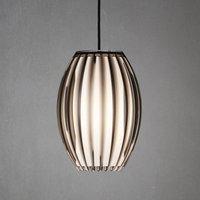 Tentacle hanging lamp in smokey grey M  21 cm