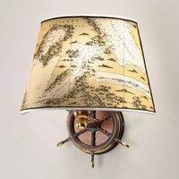 Nautica maritime wall light  one bulb  30 cm