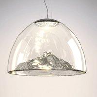 Axolight Mountain View   hanging lamp grey chrome