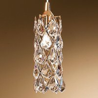 Charlene Hanging Light Gold Plated with Crystals