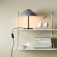 Vali table lamp  height 25 8 cm  black grey