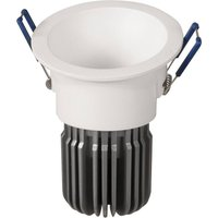 Toodle LED downlight round asymmetrical  white
