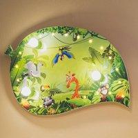 Wildlife children s wall light LED light effects