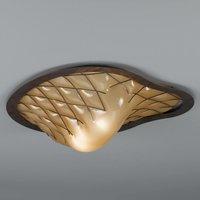 Striking Sant Erasmo ceiling lamp   handmade
