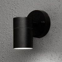 Modena outdoor wall light  1 bulb  black