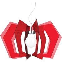 Red hanging light Spider