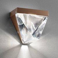Sparkling Tripla LED wall light  bronze