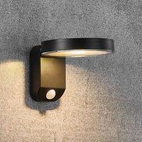 Rica Round LED solar wall light, round