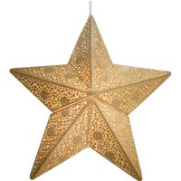By Ryd ns Etoile hanging light  star  30 cm  gold