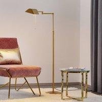 Energy saving DUNIA floor lamp  brass