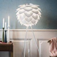 UMAGE Silvia medium floor lamp tripod white