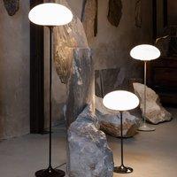 GUBI Stemlite table lamp  black chrome  70 cm