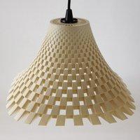 Attractive Flechtwerk designer hanging light