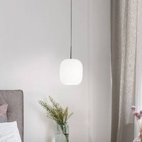 Casablanca Murea hanging light cable 1 bulb opal