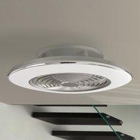 Image of Deckenventilator Alisio, LED, App-steuerbar, chrom