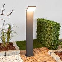 Yolena - LED-Pollerleuchte in Grafitgrau, 100 cm
