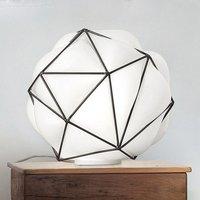 Semai table lamp with handblown lampshade
