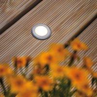 Paulmann House Bodeneinbaulampe IP65 rund flächig