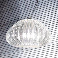 Diamante Crystal hanging light 1 bulb   30 cm