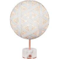 Forestier Chanpen S Hexagonal table copper white