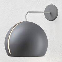 Nyta Tilt Globe Wall wall light grey