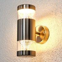 2-flammige LED-Außenwandlampe Lanea