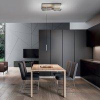 ICONE Petra S3 LED ceiling light ecru  aluminium