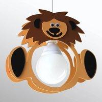 Leo Lion children s hanging light