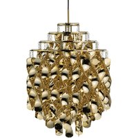 VERPAN Spiral SP01   pendant light in gold