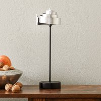 Silver table lamp BANDEROLE   iron