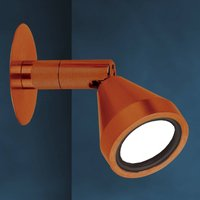 Bronze coloured LED wall spotlight MINI  antique