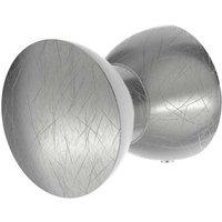 Lightme Aqua Sidelight mirror light silver leaf