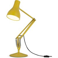 Type 75 table lamp Margaret Howell yellow