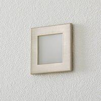 BEGA Accenta wall lamp angular frame steel 315 lm