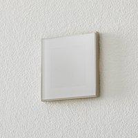 BEGA Accenta wall lamp angular ring steel 315 lm