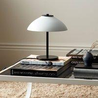 Vali table lamp  height 25 8 cm  black white
