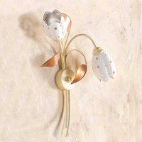 Floral TULIPANO wall light  2 bulb