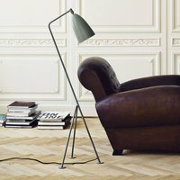 GUBI Gr shoppa tripod floor lamp  grey