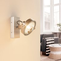 ELC Mitella ceiling spotlight  1 bulb  silver