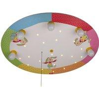 Rainbow Rabbit   round ceiling light with LEDs