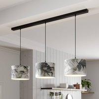 Madera hanging light  3 bulb