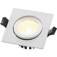 Image of Arcchio Dacio LED-Downlight eckig 36° IP65, 8,2W