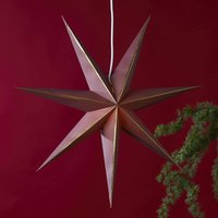 Lysa star  paper  red gold