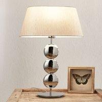 Villeroy   Boch Sofia   table lamp  silver base