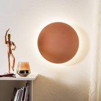 Escale Blade LED wall light  matt rose    34 cm